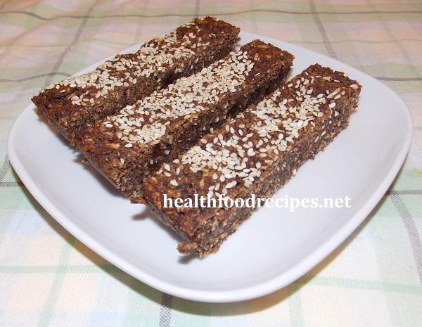 energy bars recipe with chocolate and quinoa